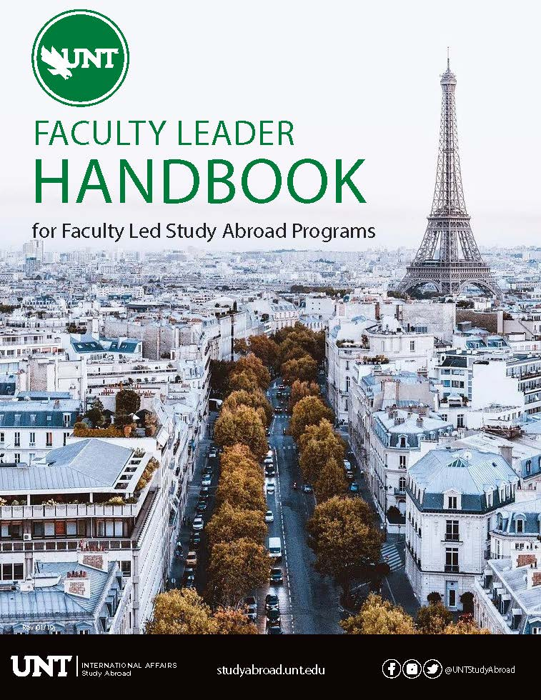 Faculty Leader Handbook FY21